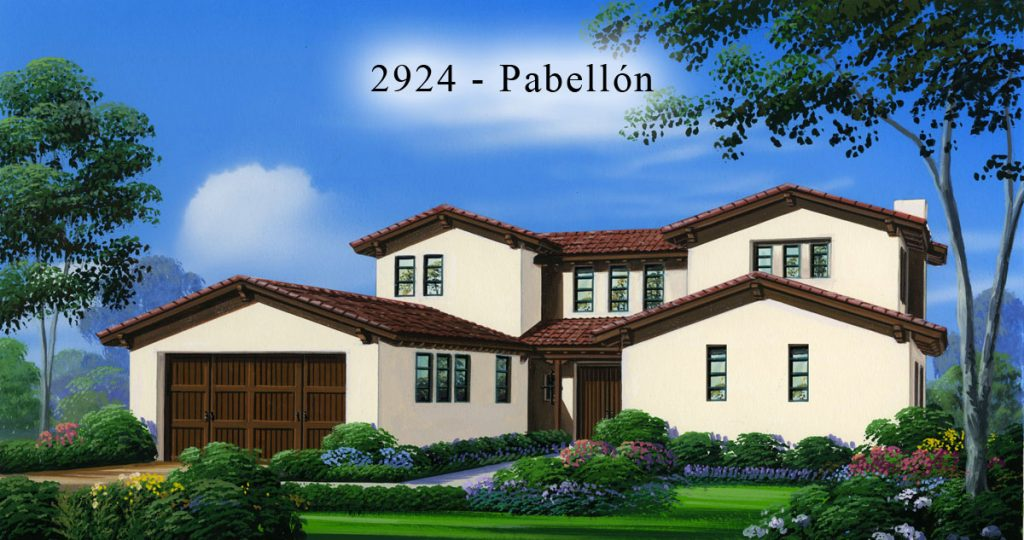 2924 Pabellon Elevation